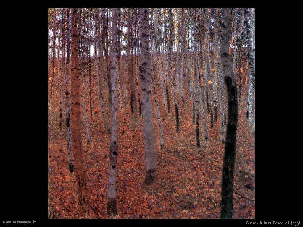 Klimt 1902_bosco_di_faggi