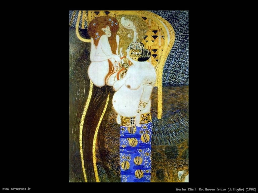 Klimt 1902_beethoven_frieze_dett
