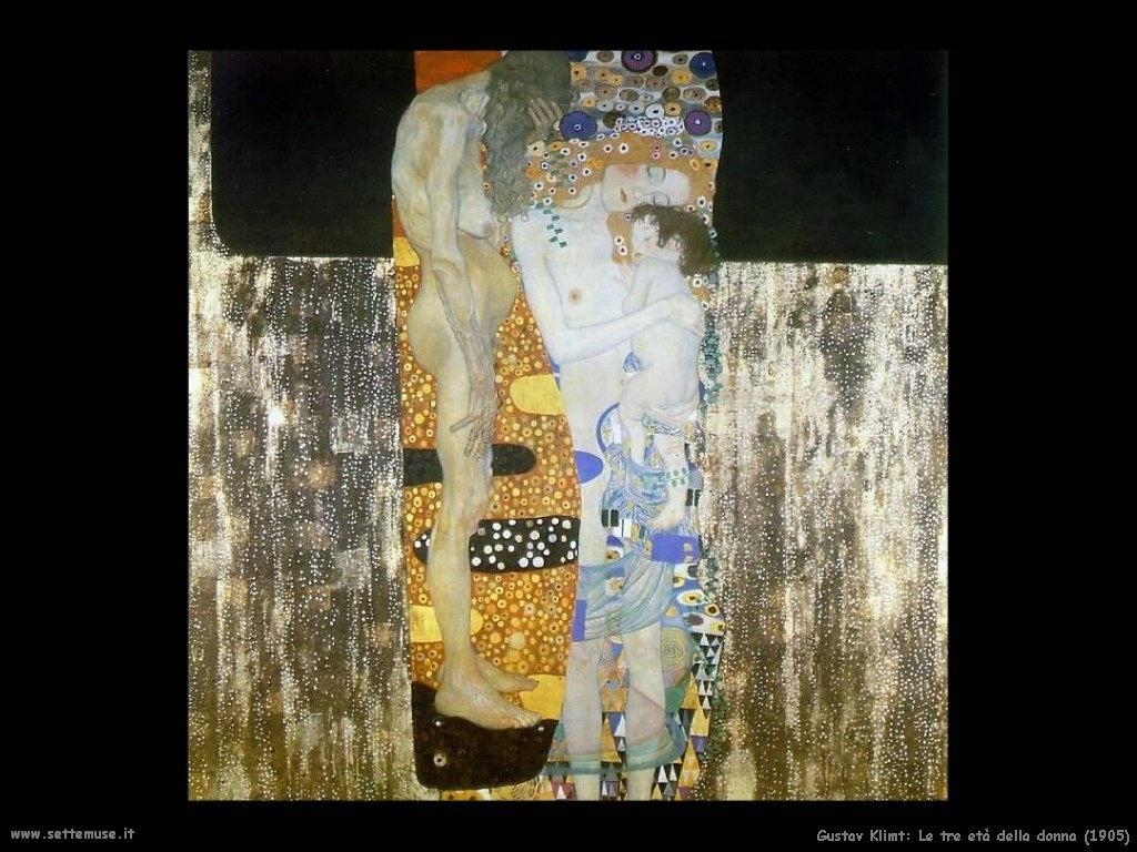 Klimt - Le tre età