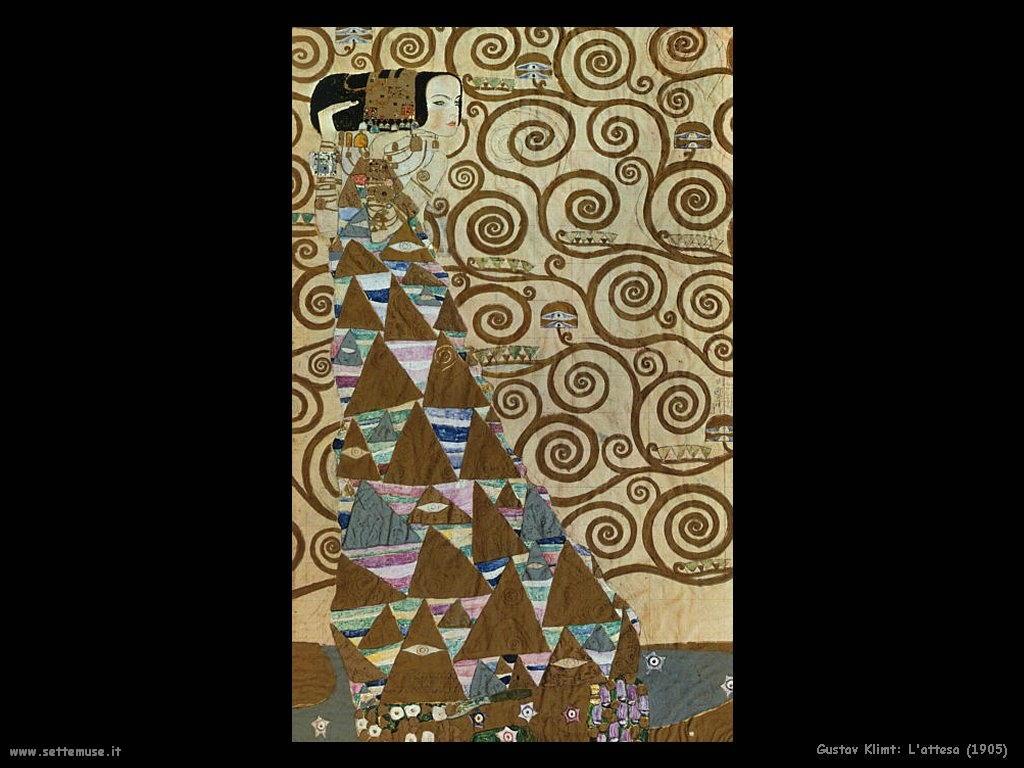 Klimt 1905_l_attesa