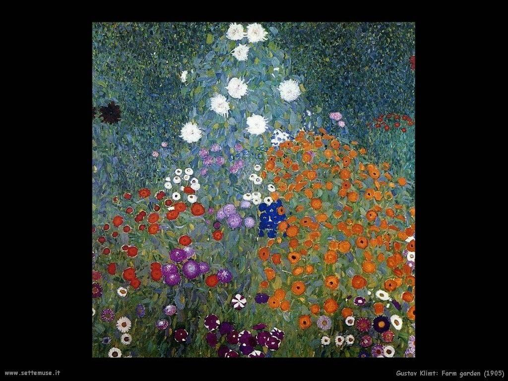 Klimt 1905_farm_garden5