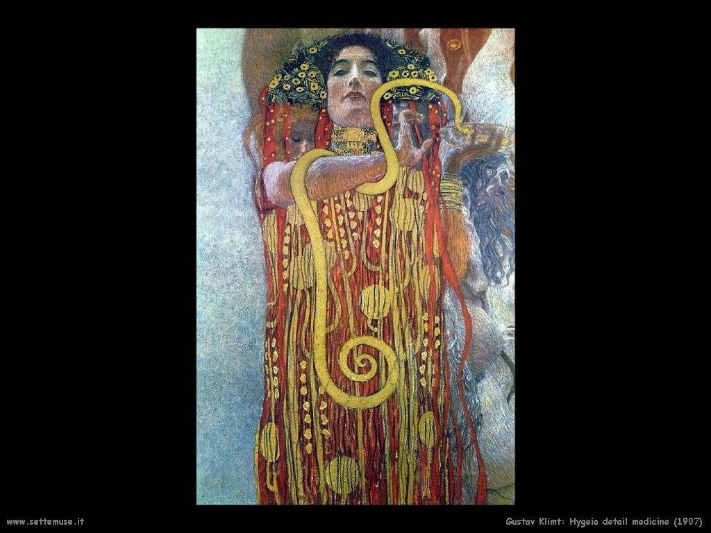 Gustave Klimt Slideshow Galleria Opere D Arte Settemuse It