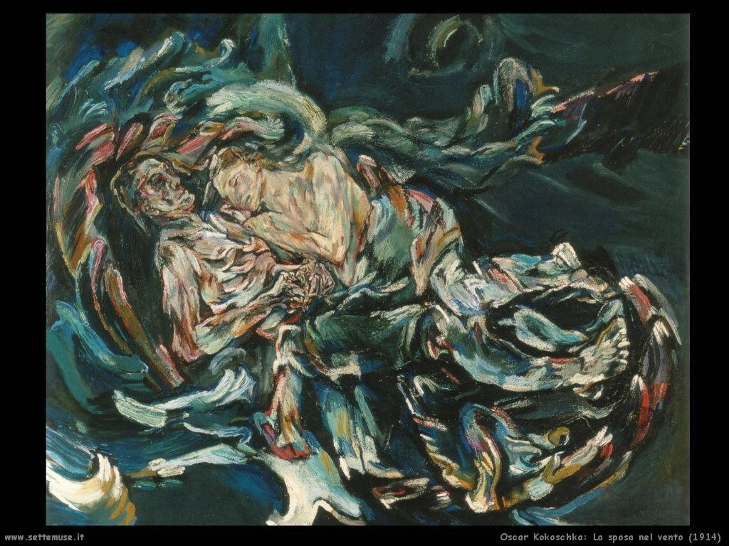 oscar_kokoschka_la_sposa_del_vento_1914