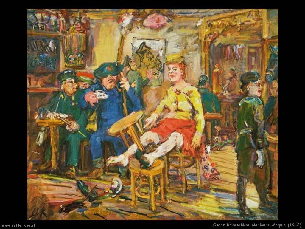 oscar_kokoschka_marianne_maquis_1942