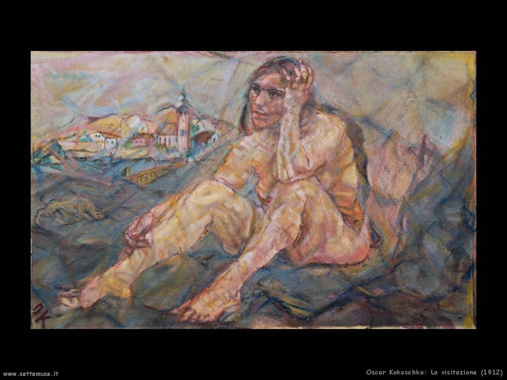 oscar_kokoschka__la_visitazione_1912