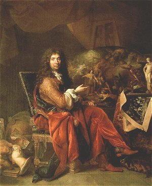 Autoritratto di Charles le Brun