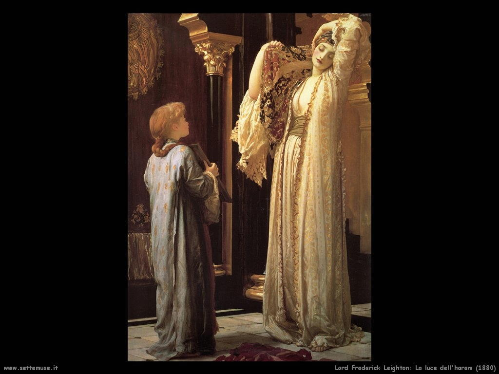 luce_dell_harem_1880 Lord Frederick Leighton