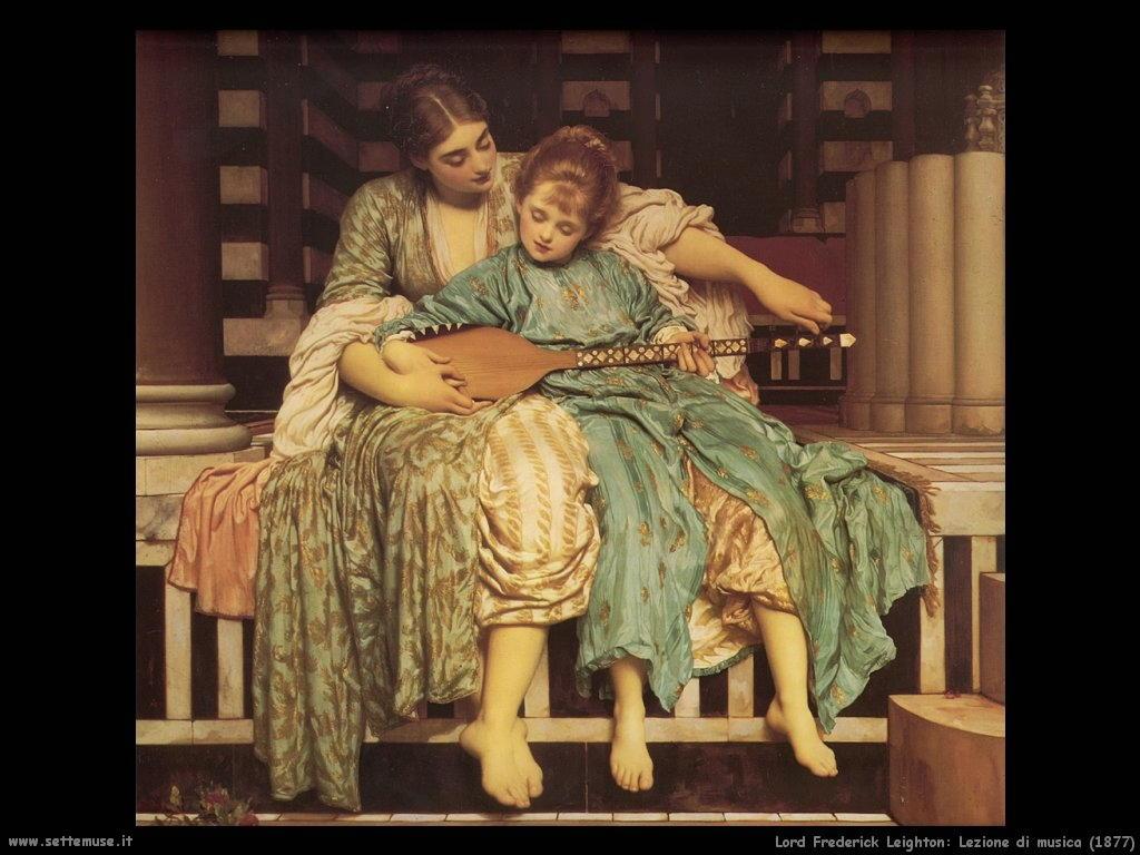lezione_di_musica_1877 Lord Frederick Leighton