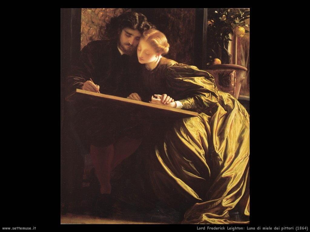 luna_di_miele_dei_pittori_1864 Lord Frederick Leighton