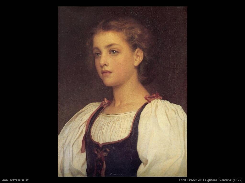 biondina_1879 Lord Frederick Leighton