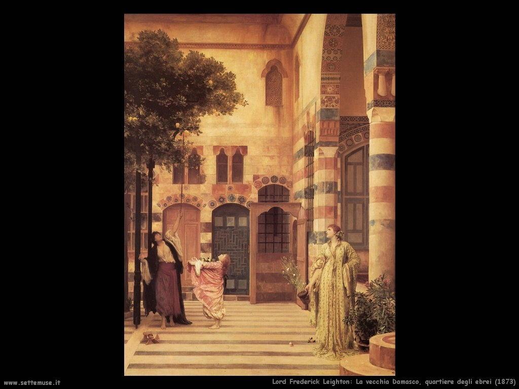 vecchia_damasco_quartiere_ebrei_1873 Lord Frederick Leighton