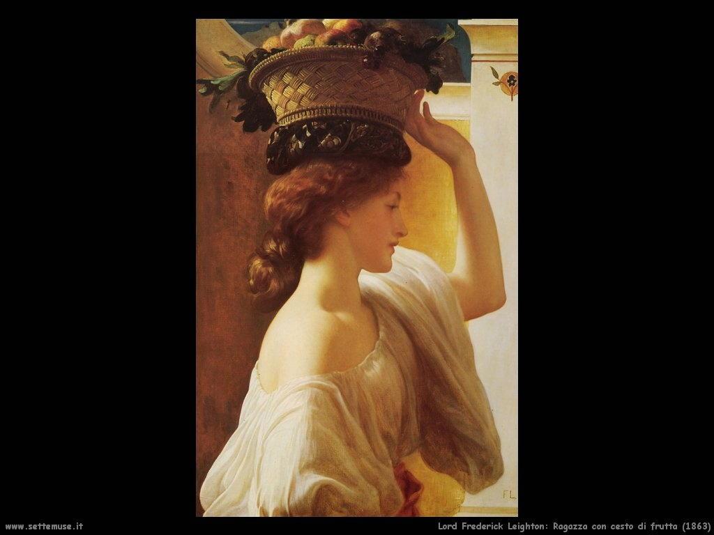 ragazza_con_cesto_di_frutta_1863 Lord Frederick Leighton