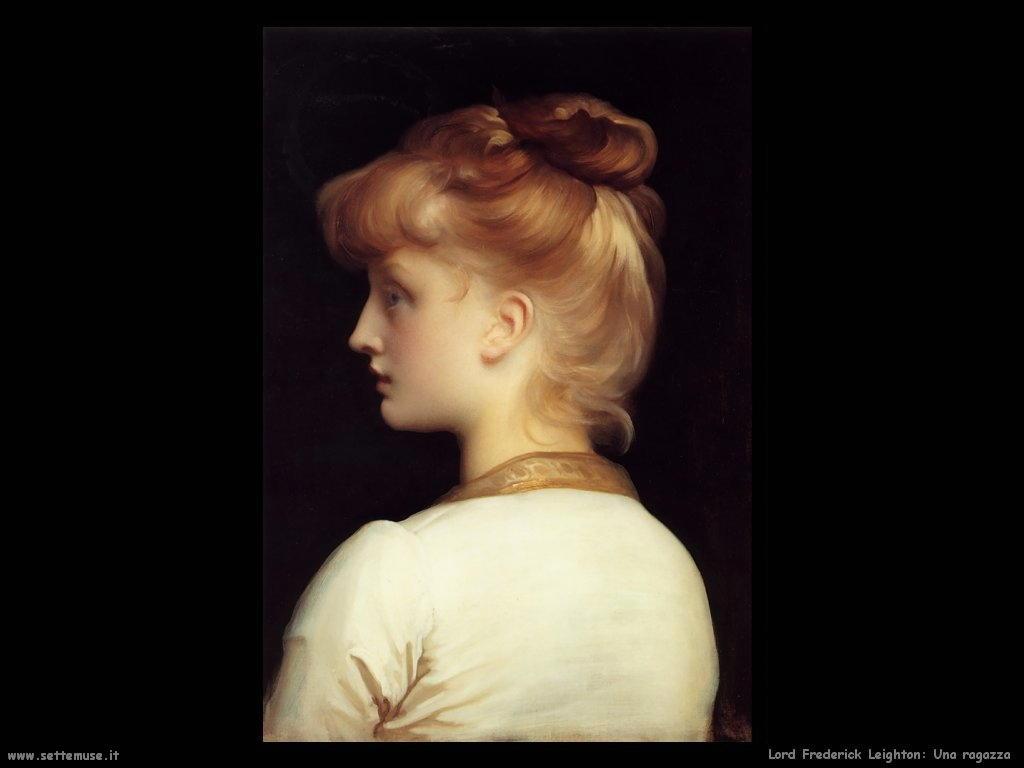una_ragazza Lord Frederick Leighton