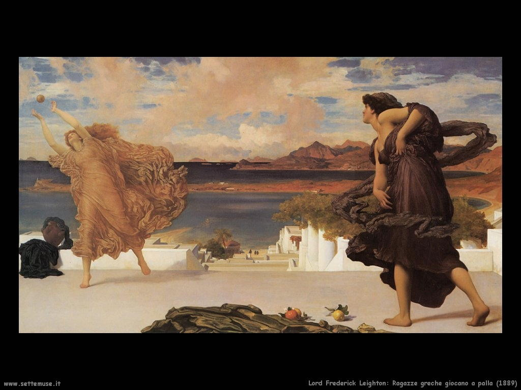 ragazze_greche_giocano_a_palla_1889 Lord Frederick Leighton