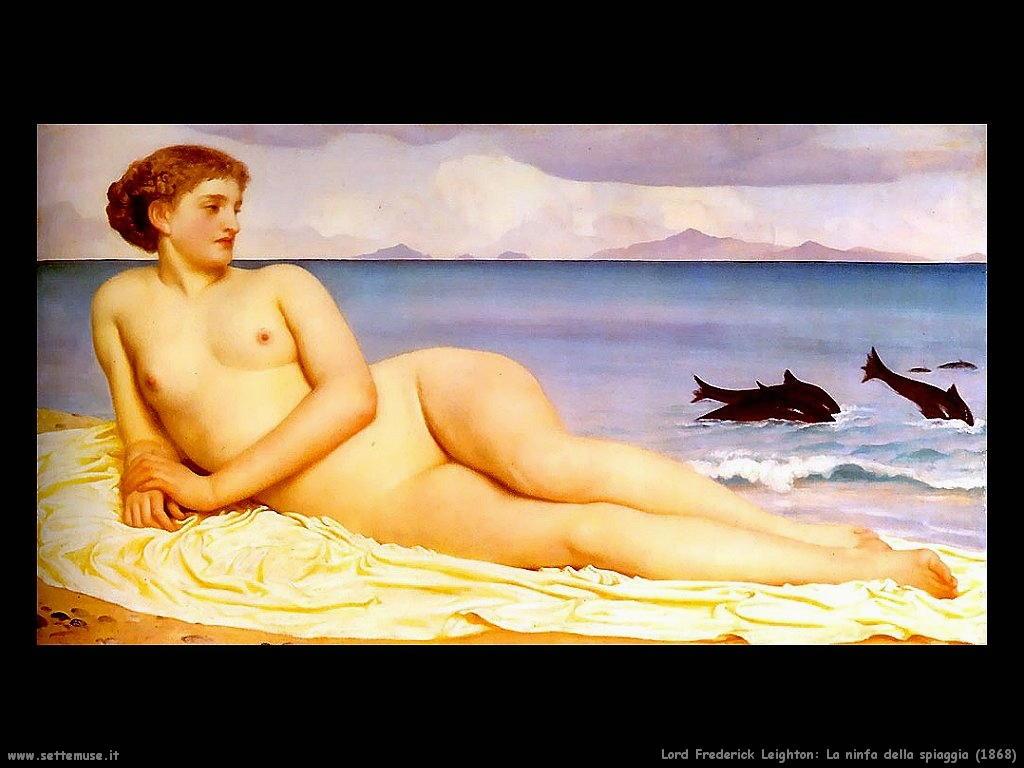 la_ninfa_della_spiaggia_1868 Lord Frederick Leighton