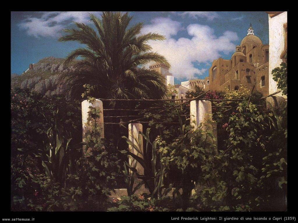 giardino_di_una_locanda_a_capri_1859 Lord Frederick Leighton