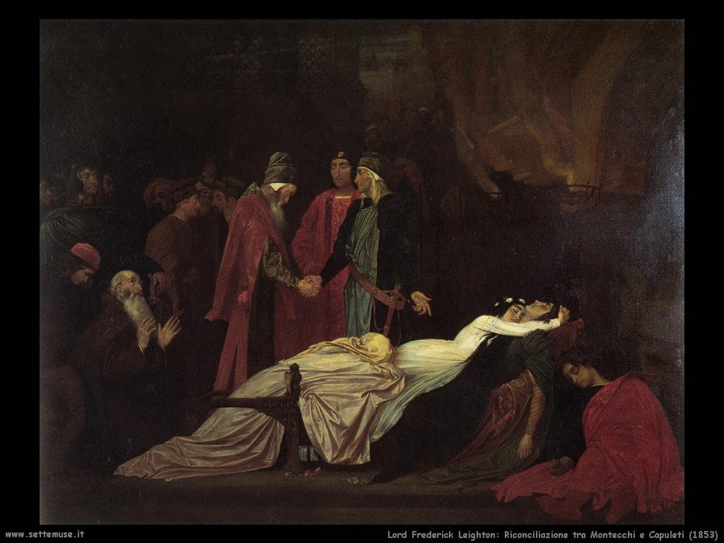 riconciliazione_montecchi_capuleti_1853 Lord Frederick Leighton