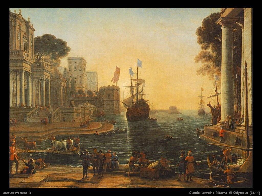 Claude Lorrain_ritorno_di_odysseus_1644