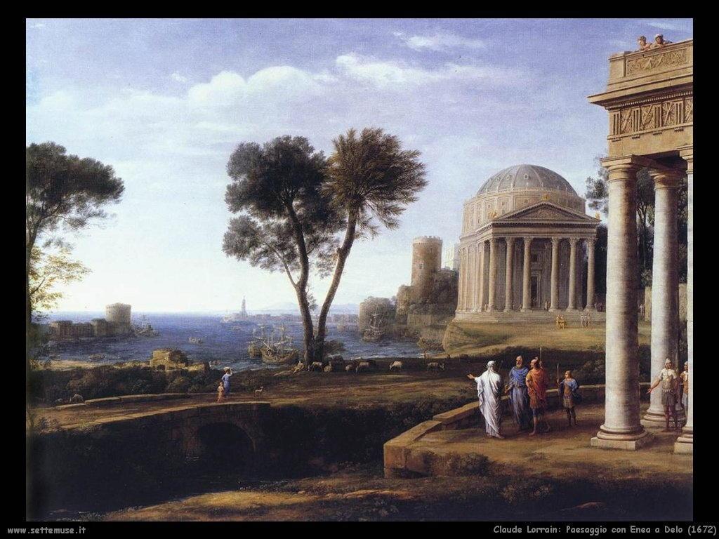 Claude Lorrain_paesaggio_con_Enea_a_delo_1672