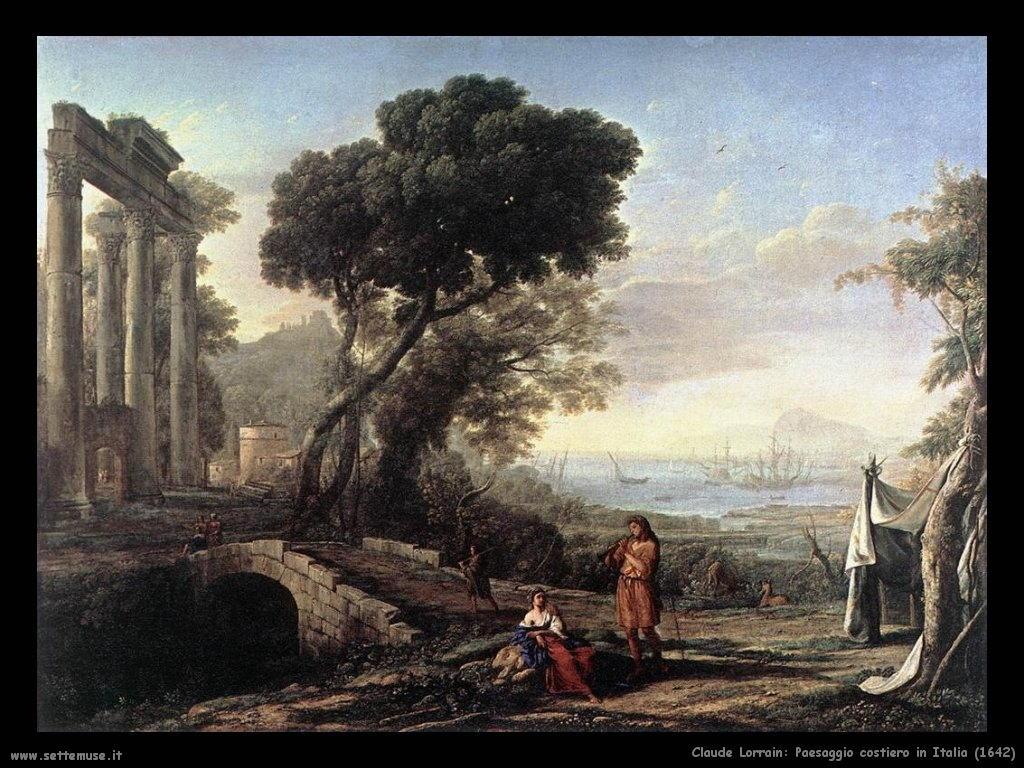 Claude Lorrain_paesaggio_costiero_in_italia_1642