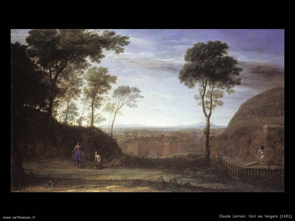 Claude Lorrain_noli_me_tangere_1681