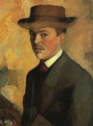 Autoritratto di August Macke