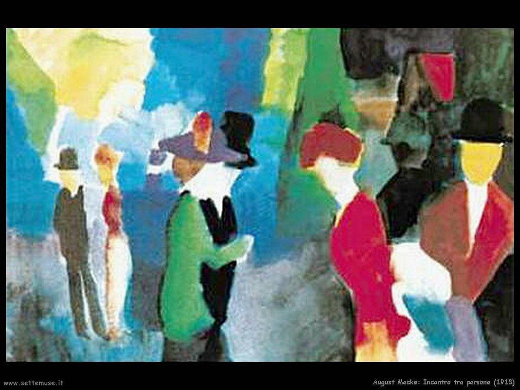 august_macke_incontro_tra_persone_1913
