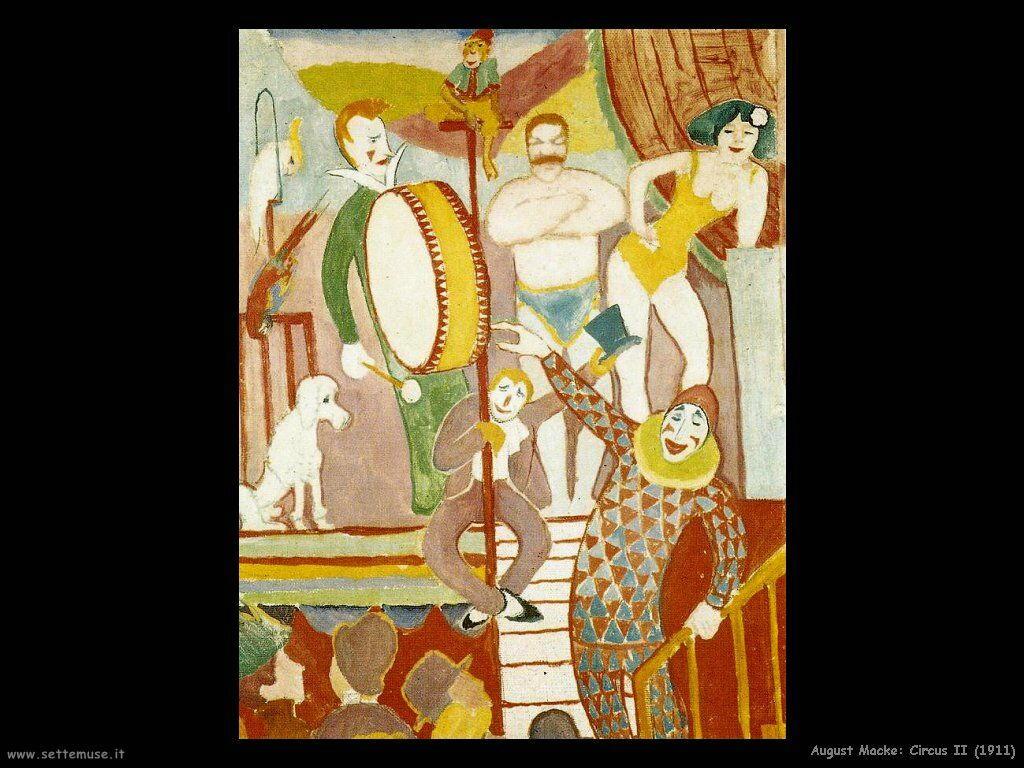 august_macke_circus_II_1911