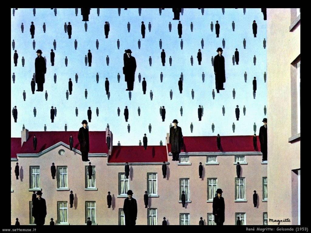 Rene 39 magritte pittore opere quadri 1 - Falso specchio magritte ...