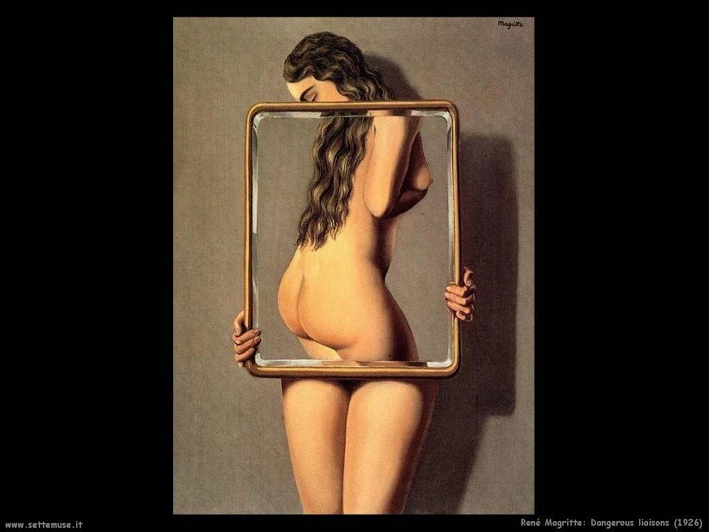 rene_magritte_Le relazioni pericolose (1926)