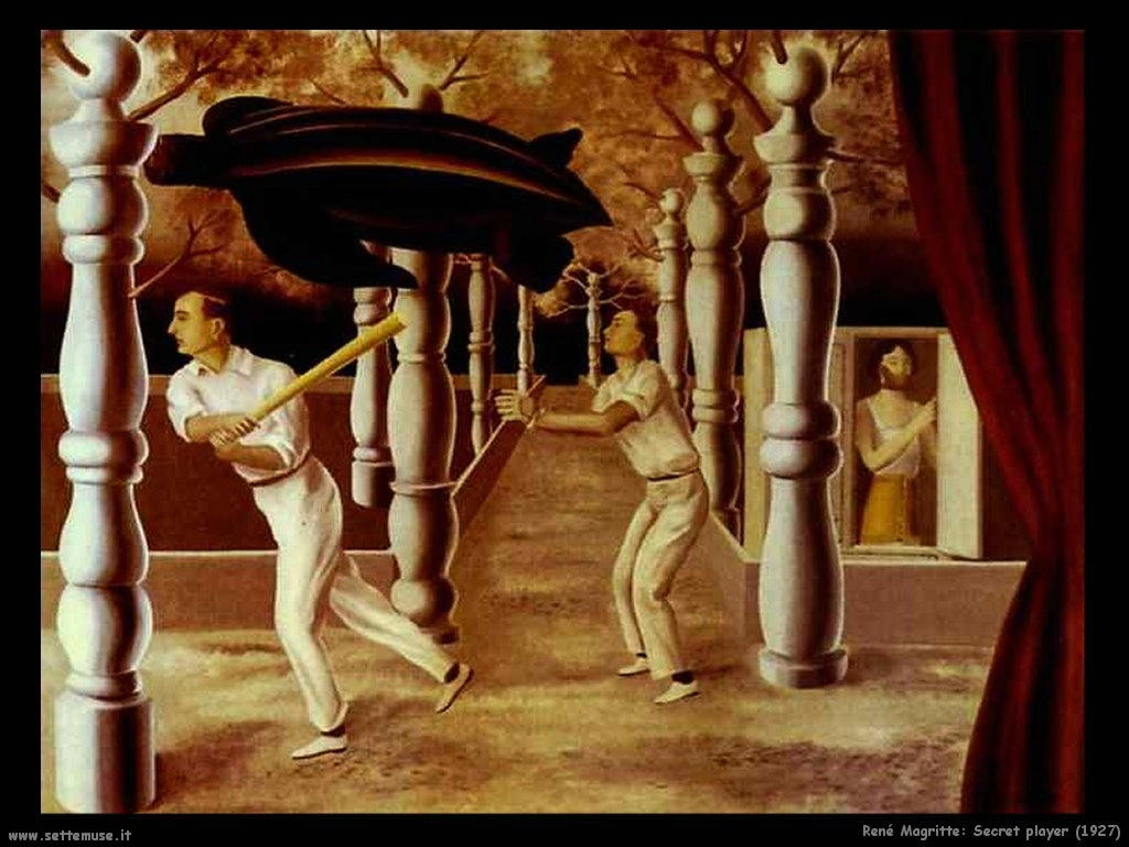 rene_magritte_Giocatore Segreto (1927)