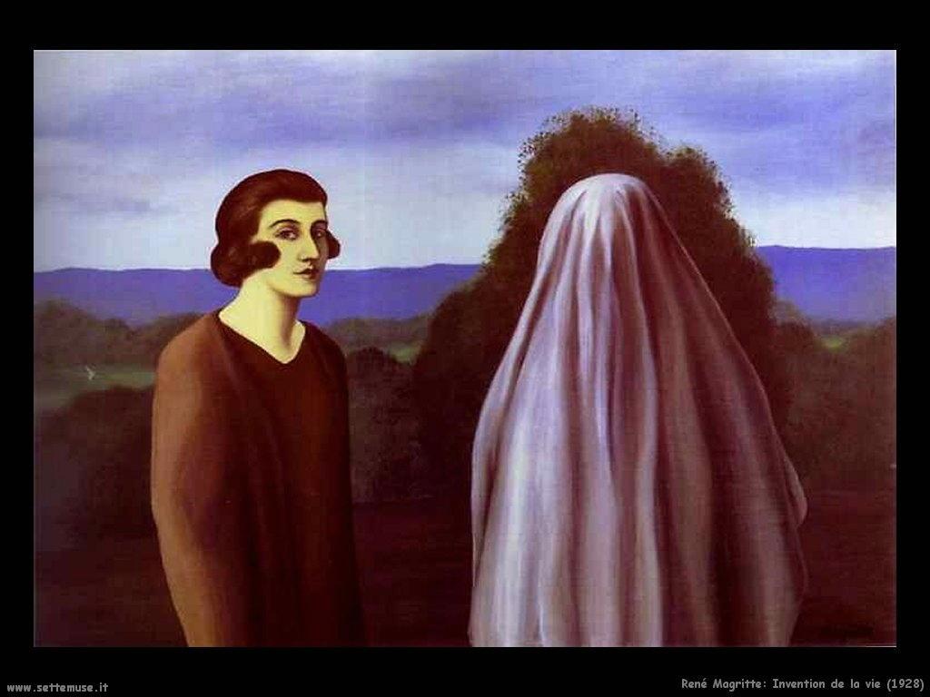 rene_magritte_Invenzione della Vita (1928)