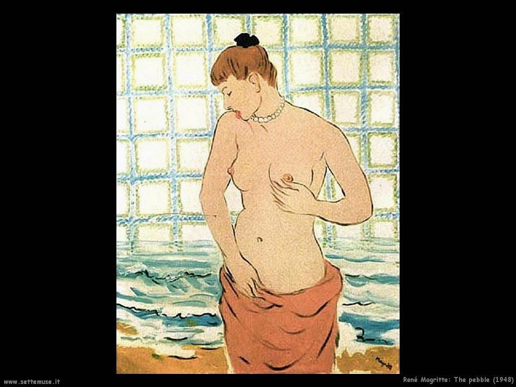 rene_magritte Il ciottolo (1948)