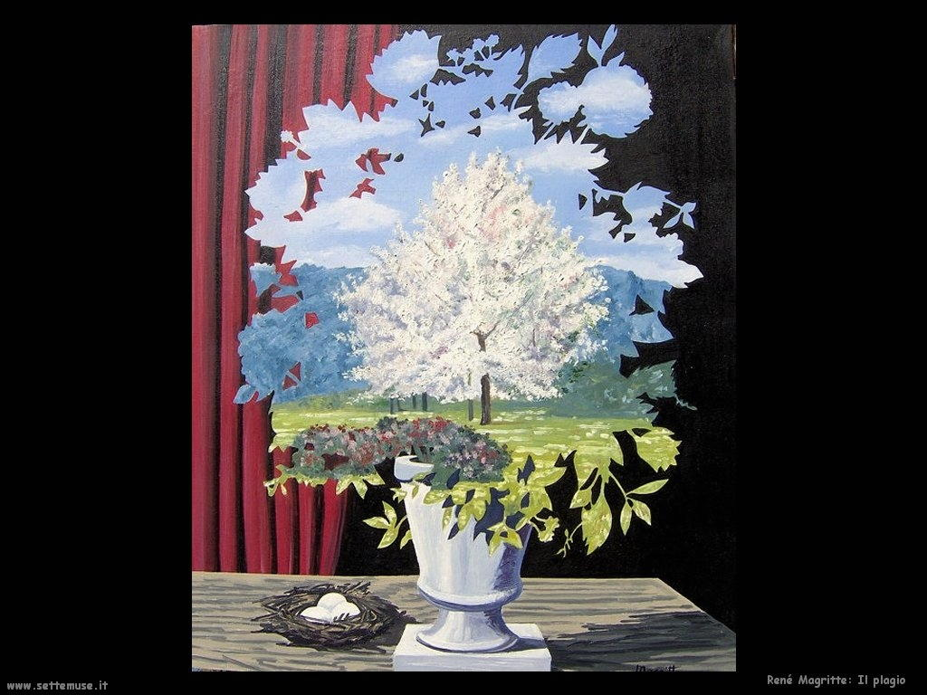 rene magritte il plagio
