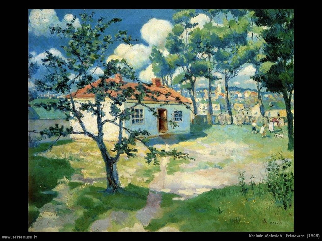 kazimir_malevich_primavera_1905