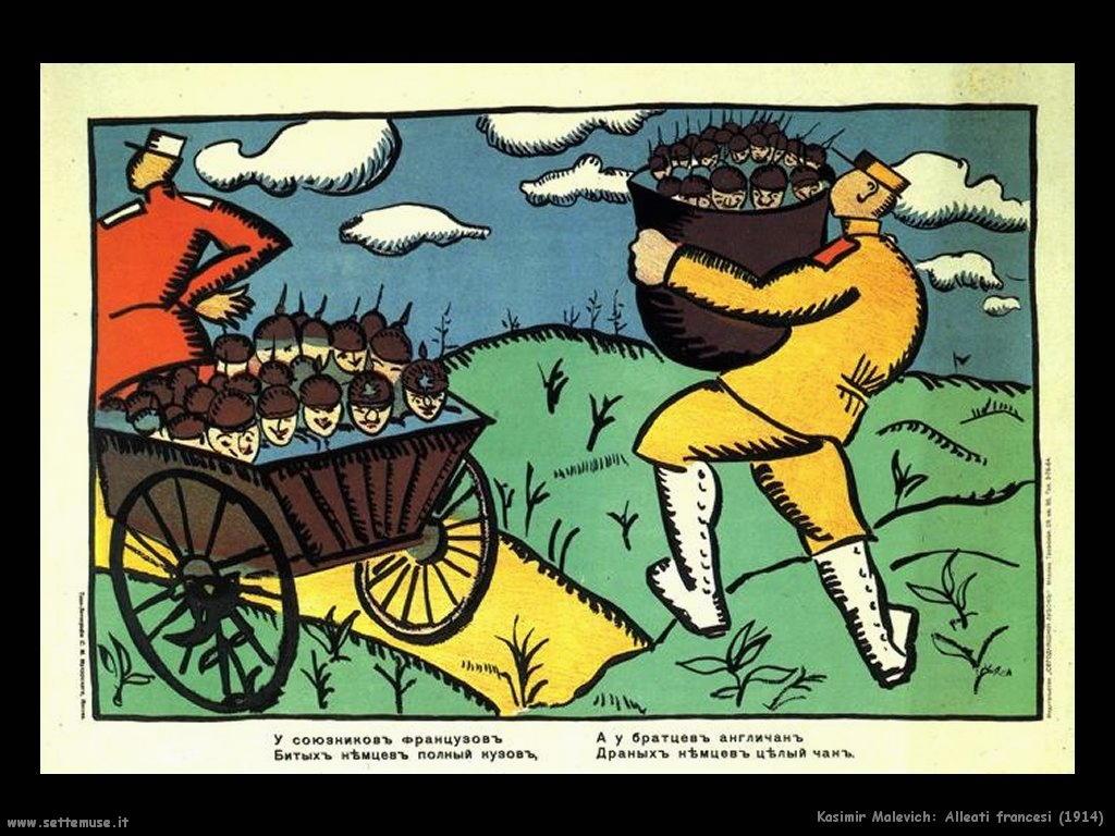 kazimir_malevich_alleati_francesi_1914