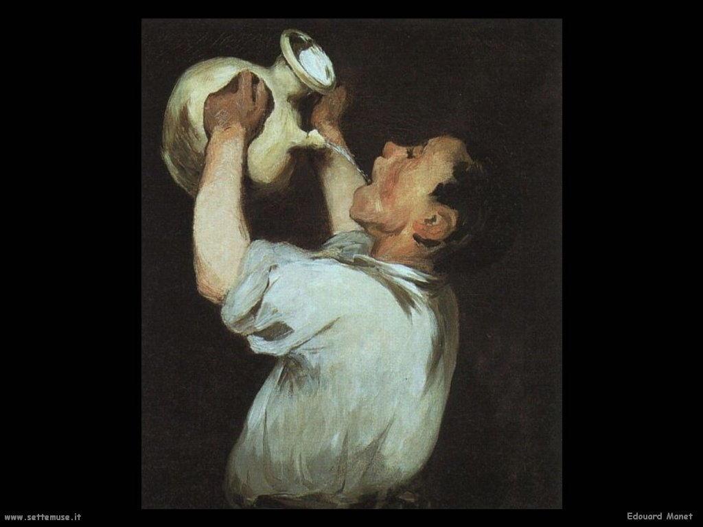 Edouard Manet Bevitore