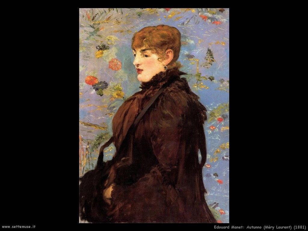 Edouard Manet_autunno_méry_laurent_1881