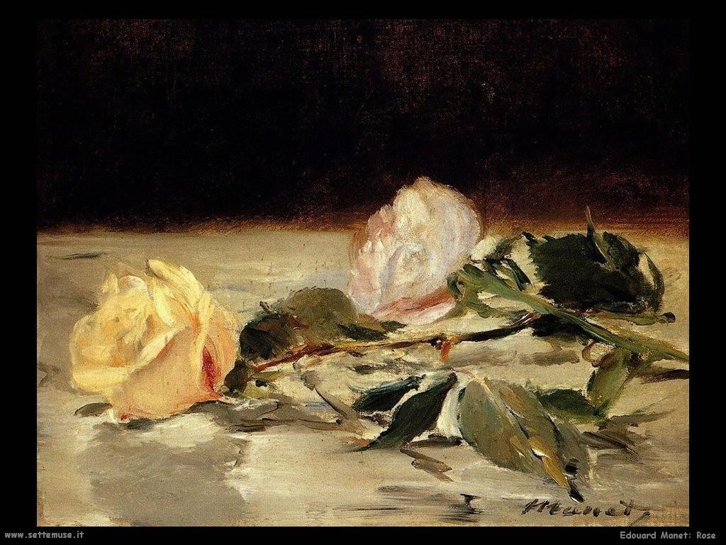 Edouard Manet _rose