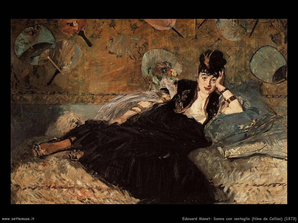 Edouard Manet_donna_con_ventaglio_Nina de Callias_1873