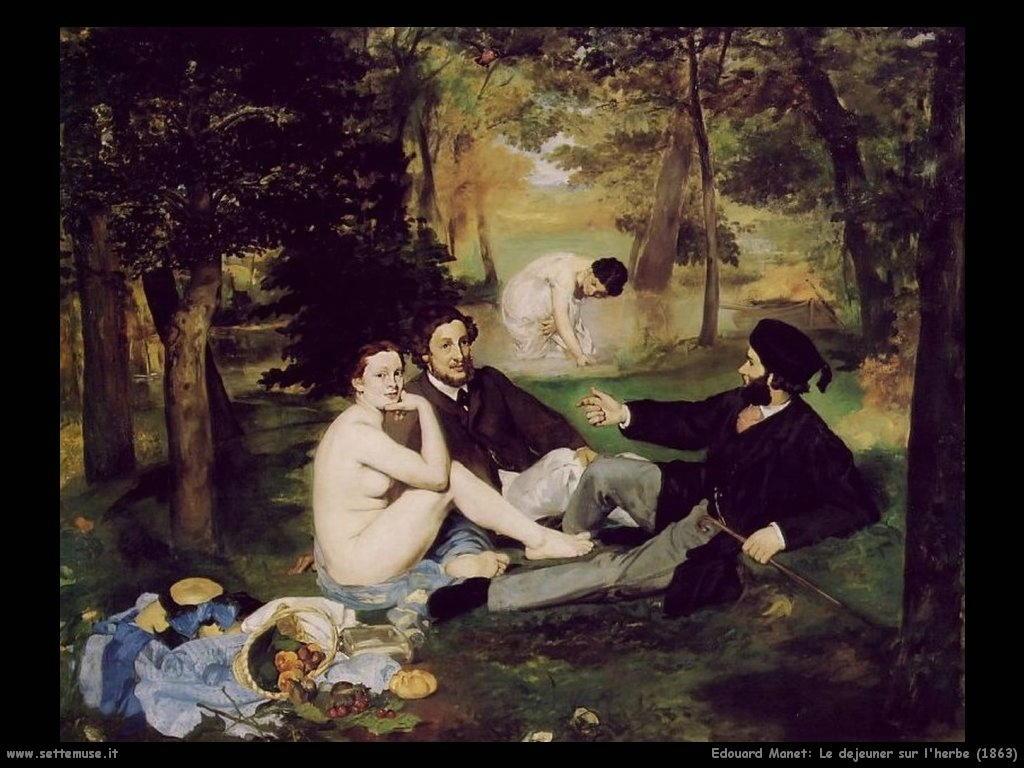 Edouard Manet _le_dejeuner_sur_l_herbe_1863