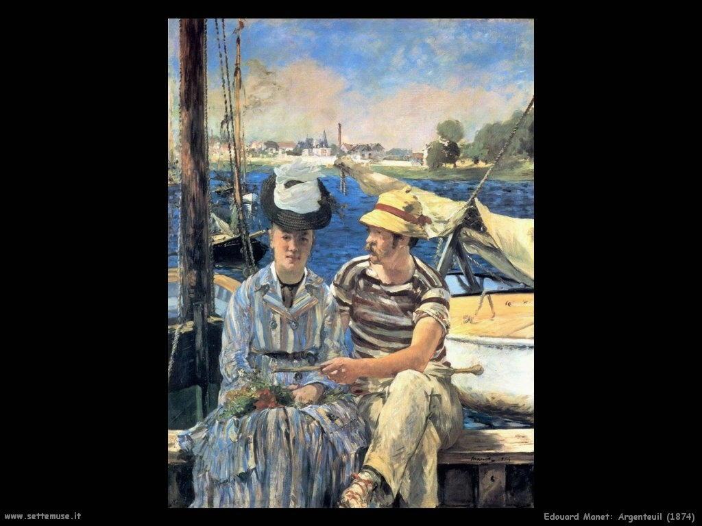 Edouard Manet _argenteuil_1874