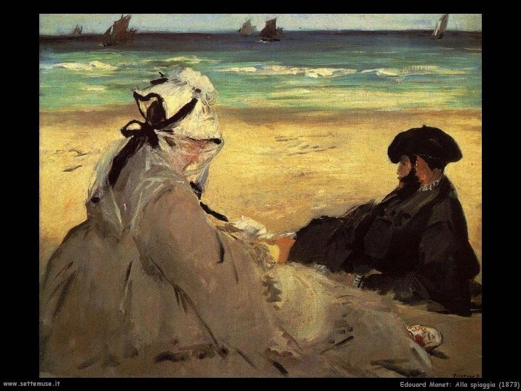 Edouard Manet _alla_spiaggia_1873