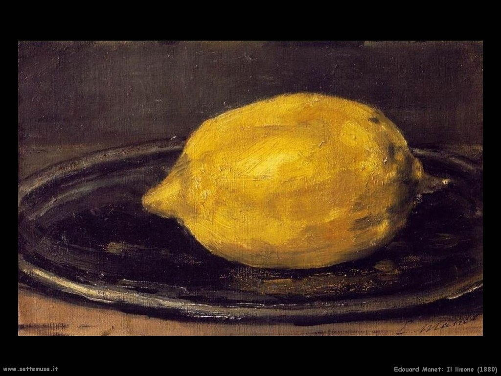 Edouard Manet _il_limone_1880