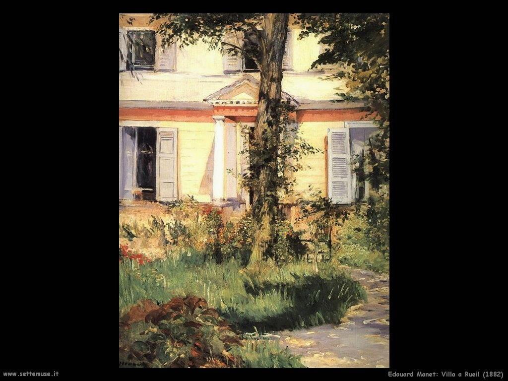 Edouard Manet_villa_a_rueil_1882