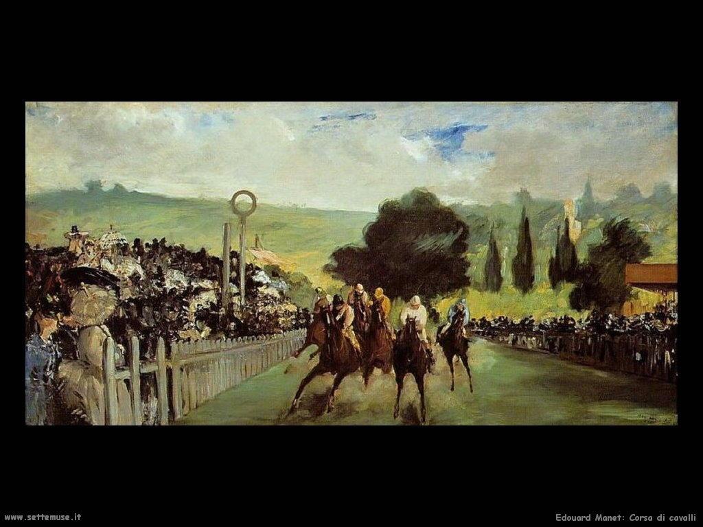 Edouard Manet _corsa_di_cavalli