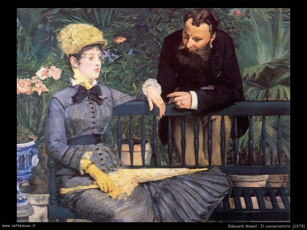 Edouard Manet _il_conservatorio_1878