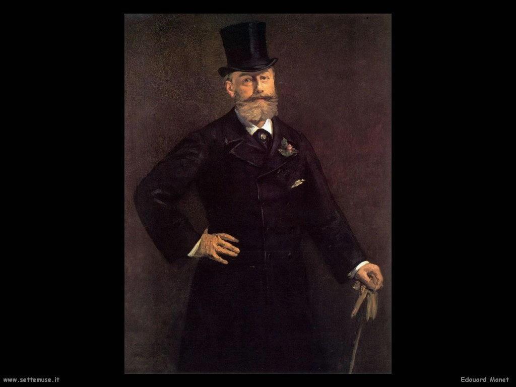 Edouard Manet Ritratto di Proust
