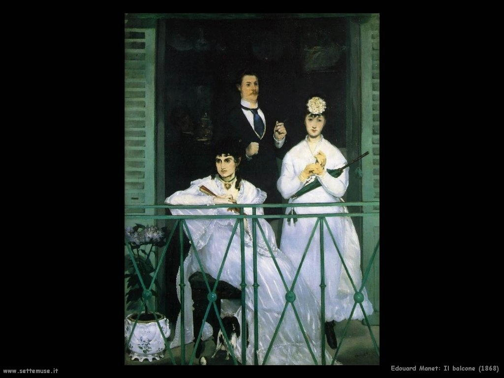 Edouard Manet _il_balcone_1868