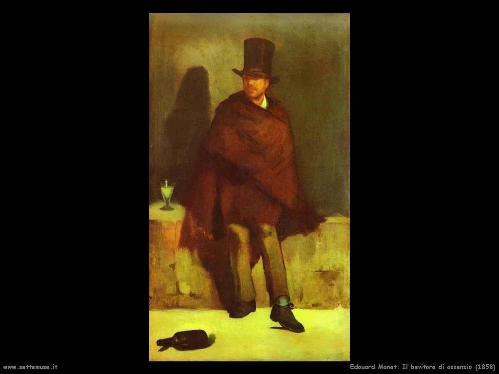 Edouard Manet_il_bevitore_di_assenzio_1858